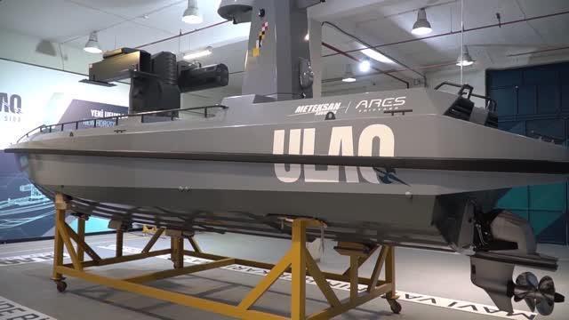 Türkiye'nin ilk silahlı deniz aracı ULAQ, Mavi Vatan ile buluştu