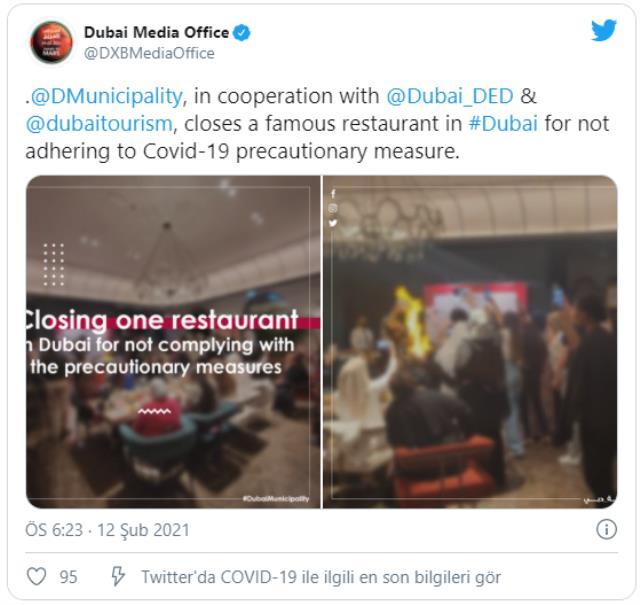 CZN Burak'ın Dubai'deki şubesi kapatıldı