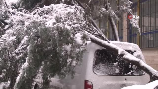 AKOM'dan İstanbul için yağış açıklaması: Kar kalınlığı 50 santimetreye kadar ulaştı