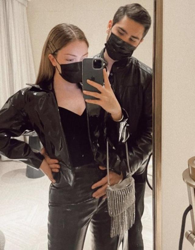 Danla Bilic yeni sevgilisiyle ilk pozunu paylaştı