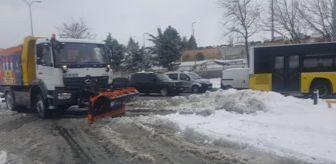 Trakya Bölgesi: Kar yağışı devam ediyor