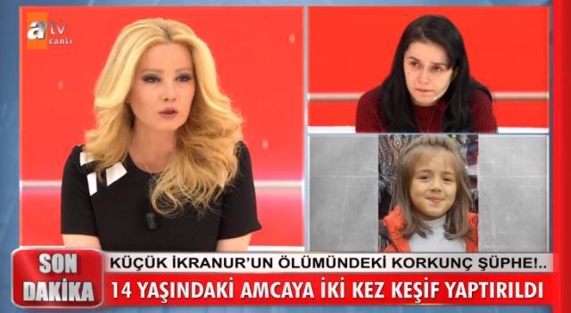 Müge Anlı, dere yatağında ölü bulunan İkranur'un cinayete kurban gittiğini açıkladı: Amcası her şeyi itiraf etti