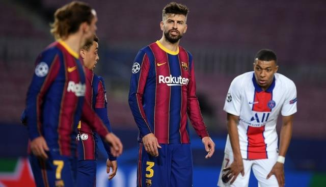 Barcelonalı Pique ve Griezmann'ın tartışırken ettikleri küfürler kameralara yansıdı