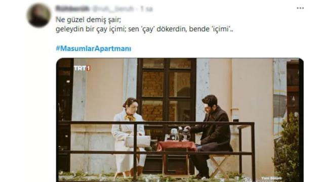 Masumlar Apartmanı'nda Safiye ile Naci'nin buluşması sosyal medyada gündem oldu