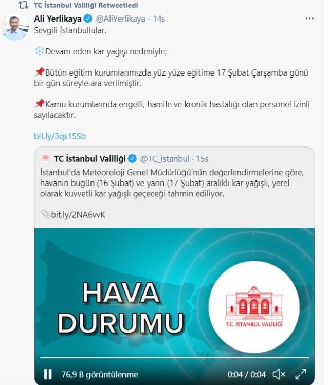Okullar tatil mi? Hangi illerde kar tatili ilan edildi? İstanbul, Ankara, İzmir'de bugün okullar tatil mi?