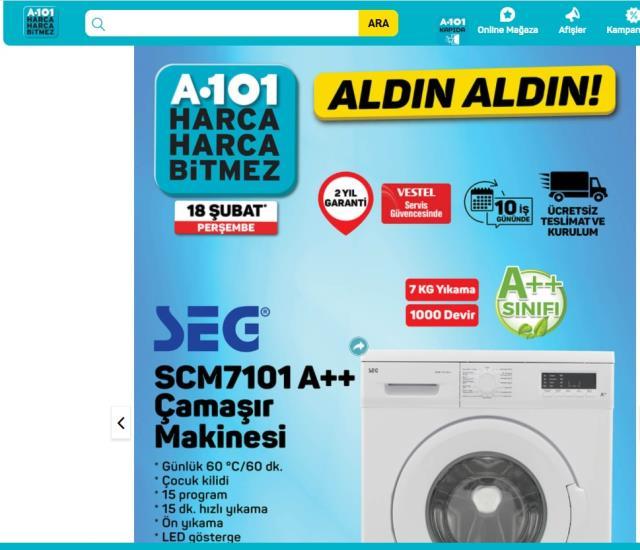 A101 5 Şubat Aldın Aldın | A 101 Aldın Aldın 2021! A101 aktüel ürün listesi kataloğunda neler var?