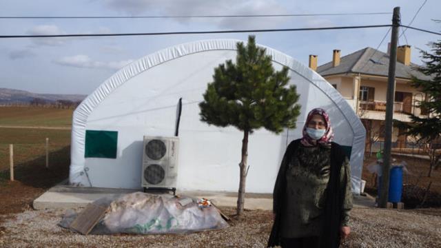 Devlet desteğiyle mantar üretimine başlayan ev hanımı hem eşine hem kadınlara örnek oldu