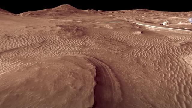 'Azim' Mars'a indi, canlı yayını 1.5 milyon kişi takip etti