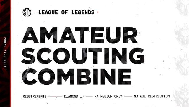 TSM, amatör League of Legends kadrosuna yeni oyuncular alacağını duyurdu
