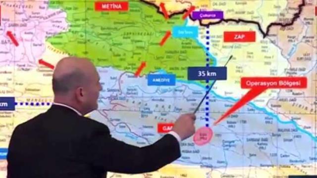 İçişleri Bakanı Süleyman Soylu: Kandil, Suriye ve Sincar koridorunun geçiş alanı Gara'dır