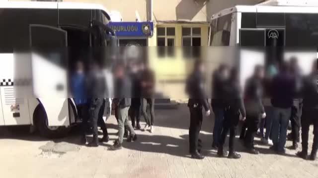 10 ilde PKK'nın uyuyan hücrelerine operasyonda 13 kişi tutuklandı