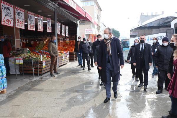 Son dakika haberi... Sultanbeyli'de Kovid-19 denetimleri