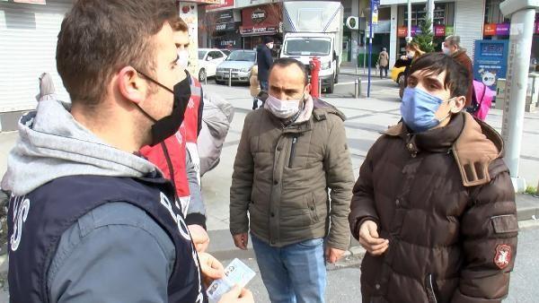 Son dakika haber: Zeytinburnu'nda koronavirüs denetimi