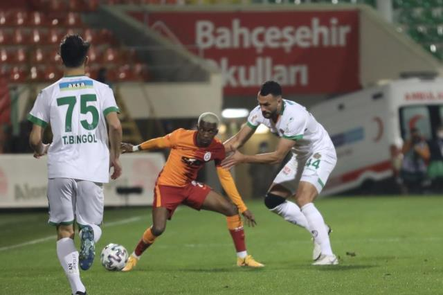 The statistics of the match in which Galatasaray defeated Alanyaspor 1-0 on the road draw attention