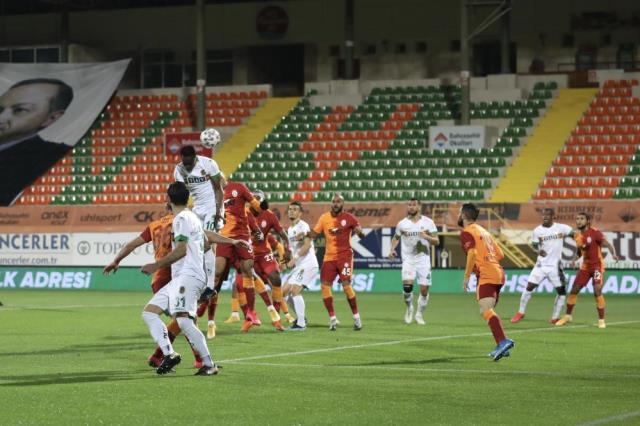 The statistics of the match where Galatasaray defeated Alanyaspor 1-0 on the road draw attention