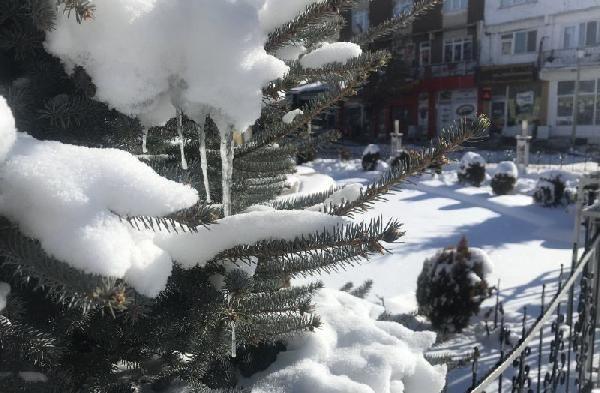Sivas'ın İmranlı ilçesi, eksi 27 ile Türkiye'nin en soğuk yeri oldu