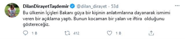 Soylu'nun Gara açıklaması sonrası gözlerin çevrildiği Dirayet Dilan Taşdemir konuştu