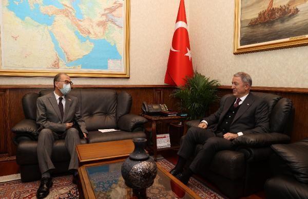 Son dakika haberi: Bakan Akar, Japonya Büyükelçisi ile görüştü