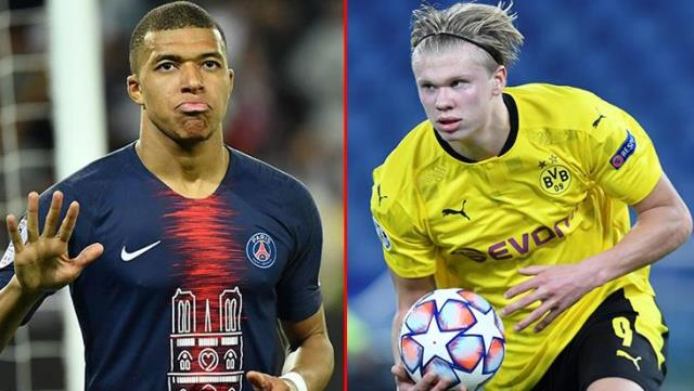 Erling Haaland and Kylian Mbappe will cost Real Madrid 852 million euros
