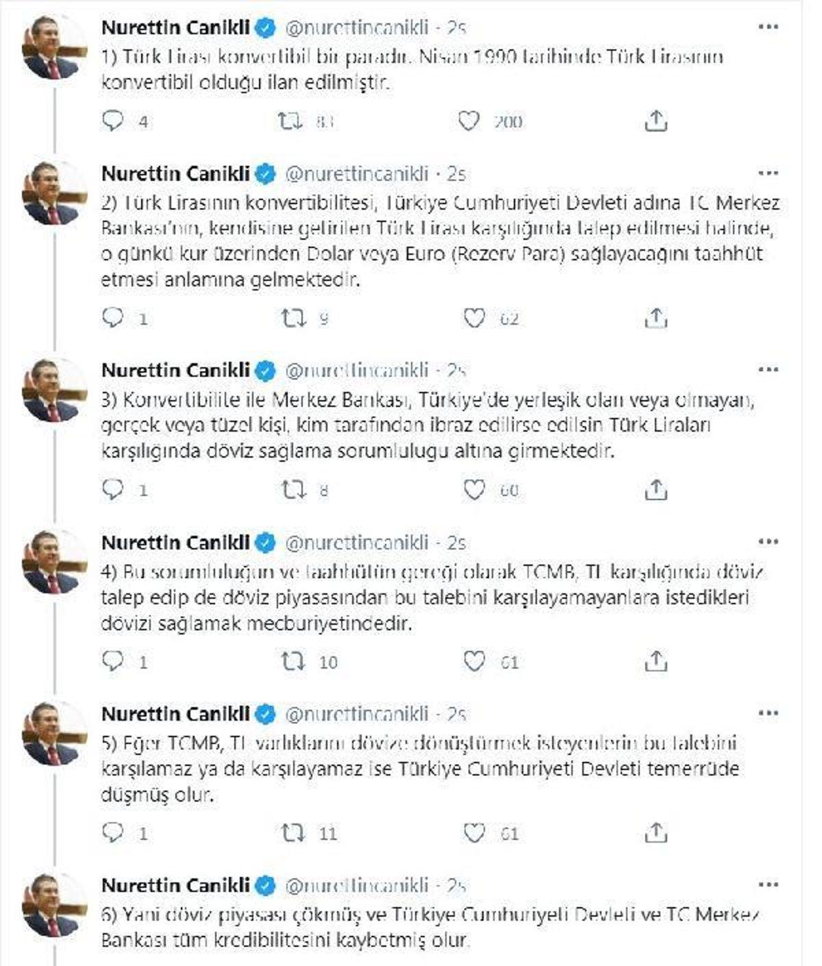 AK Parti'li Canikli'den 'rezerv' açıklamalarına tepki