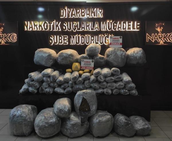 Diyarbakır'daki uyuşturucu operasyonunda 19 tutuklama