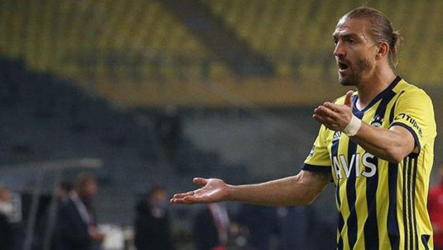 Fenerbahçe will warn Caner Erkin for his reaction to leaving the game