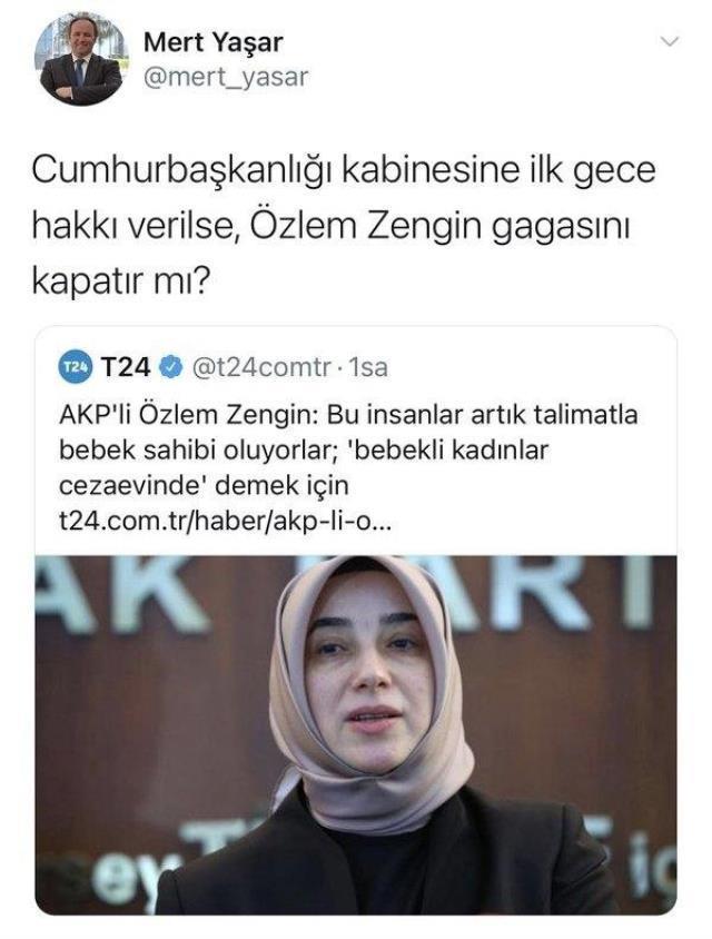 Mert Yaşar ne dedi? Mert Yaşar Özlem Zengin'e ne demek istedi? Mert Yaşar kimdir, ne iş yapıyor?
