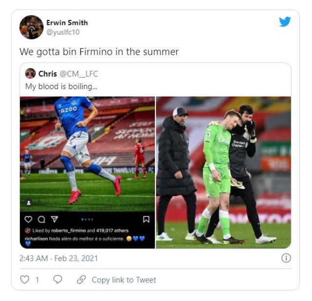 Roberto Firmino liked Richarlison's social media post, all hell broke loose!  Received death threats