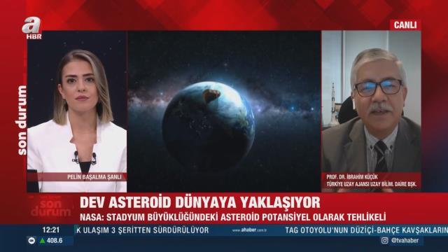 Yaklaşan stadyum büyüklüğündeki asteroid Dünya'ya çarpacak mı? Yetkili isim konuya açıklık getirdi