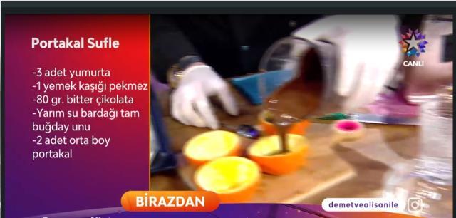 Portakal sufle nasıl yapılır? Demet ve Alişan ile Sabah Sabah portakal sufle tarifi!