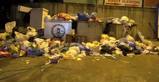 Maltepe'de yükselen çöp yığınlarına İBB neden müdahale etmiyor? İşte yanıtı