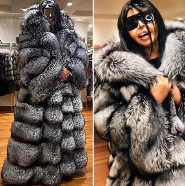 Bülent Ersoy, 450 bin TL ödeyerek 55 tilkinin kürkünün kullanıldığı palto satın aldı