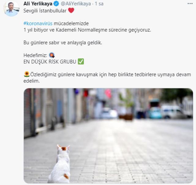 İstanbul Valisi Yerlikaya'dan normalleşme açıklaması: Hedefimiz, en düşük risk grubu