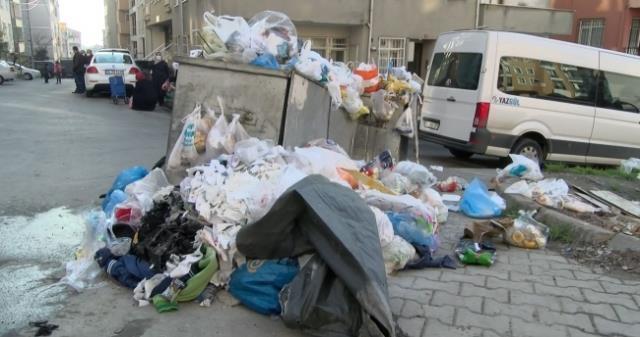 Belediye işçilerle anlaştı! Maltepe'yi çöp dağlarına çeviren grev sona erdi