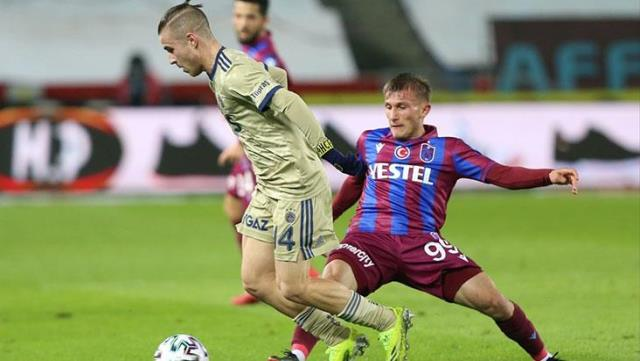 Fenerbahçe laughed with Pelkas in the giant match!  Yellow-lacivertliler defeated Trabzonspor 1-0 on the road