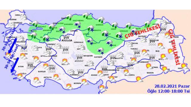 Meteoroloji il il sıraladı! Sağanak yağmur uyarısı