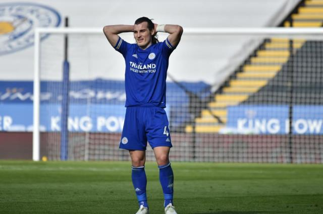 Leicester City loses to Arsenal on the field in week 26 of the Premier League