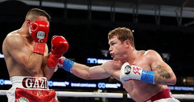 Turkish boxer Avni Yıldırım faced with Canelo Alvarez