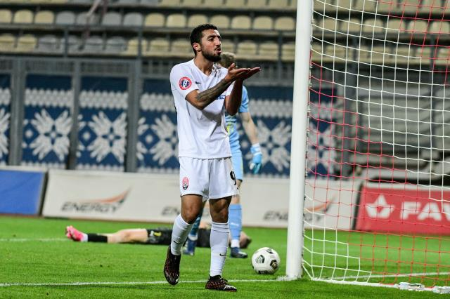 Allahyar scored a great assist in the Shakhtar Donetsk match
