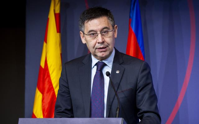 Corruption operation in Barcelona!  Former president Josep Maria Bartomeu detained