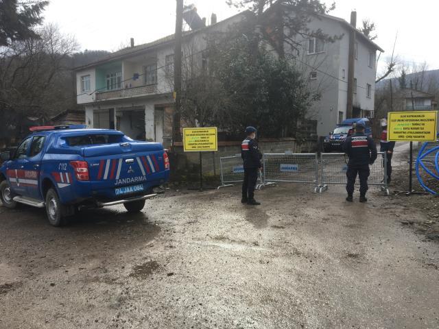 Bartın'da 10 kişide mutasyonlu virüs tespit edildi, 5 mahalle karantinada