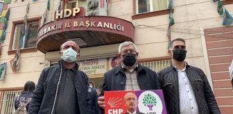 Didim: Kılıçdaroğlu'nun kardeşi, evlat nöbetindeki aileleri ziyaret etti: Ben de ağabeyimi HDP'den istiyorum