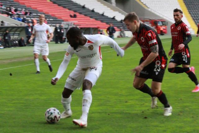 Gaziantep FK defeated Genclerbirligi 2-1 at home