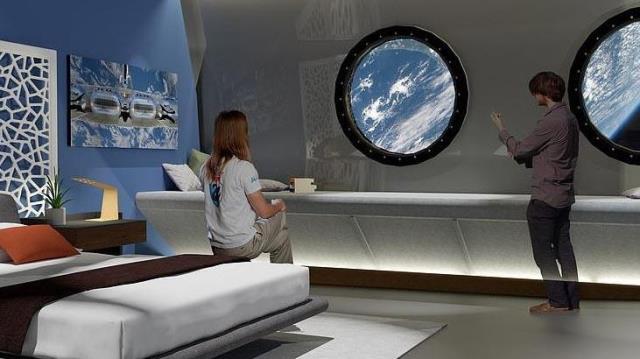Uzayda inşa edilecek ilk otelin konuklarını ağırlayacağı tarih netleşti