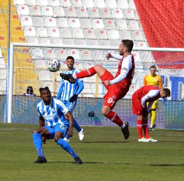 Büyükşehir Belediye Erzurumspor: 2 - Fatih Karagümrük: 2