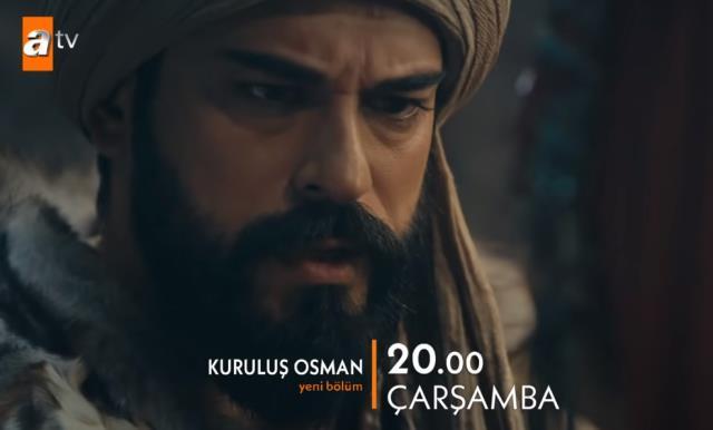 Kuruluş Osman canlı izle! ATV Kuruluş Osman 48. yeni bölüm canlı izle! Kuruluş Osman yeni bölümde neler olacak?
