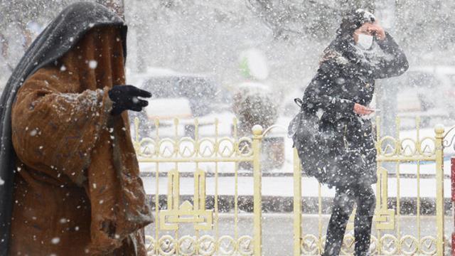 Meteoroloji'den 5 il için karla karışık yağmur ve kar yağışı uyarısı