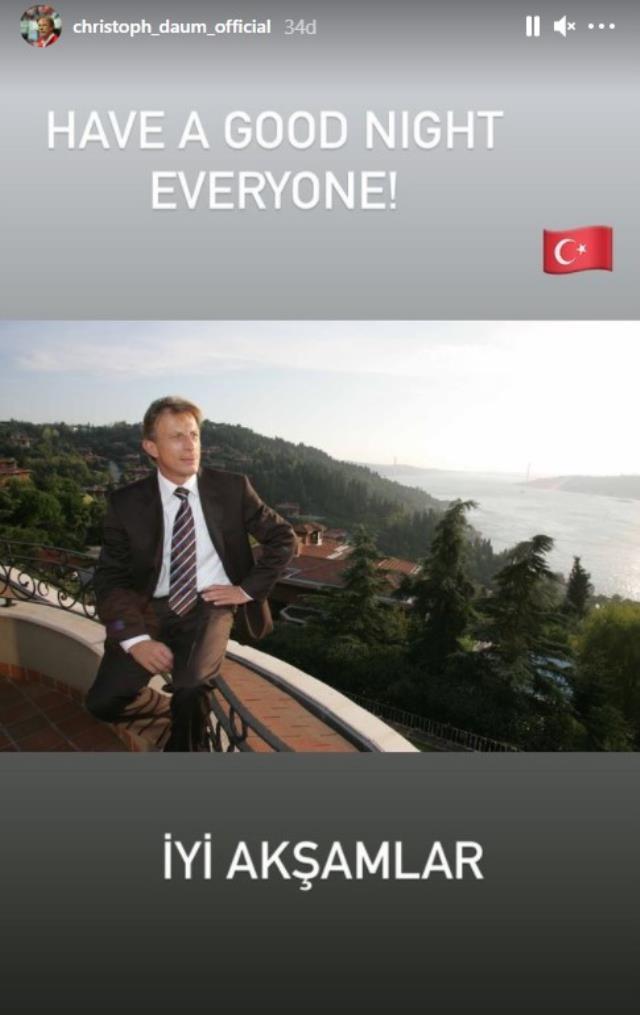 Christoph Daum shared Istanbul after Fenerbahçe drew against Antalya