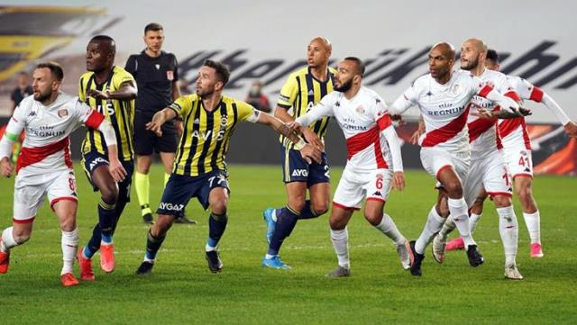 Fenerbahçe drew 1-1 with Antalyaspor, which it hosted on the field