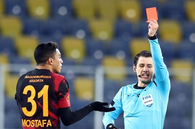 Galatasaray applies to MHK for the cancellation of Mohamed's red card